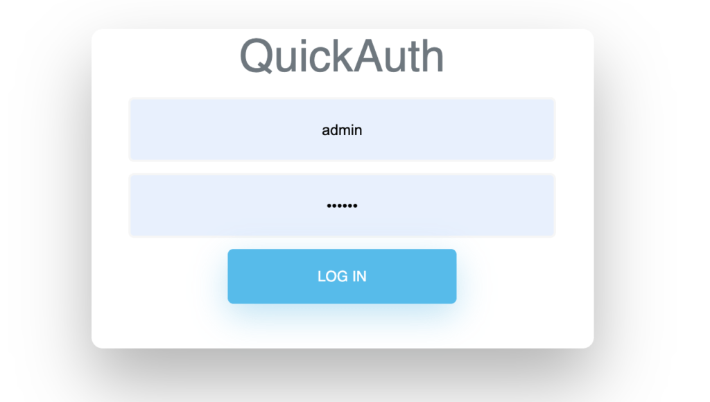 quickAuth by David Raleche